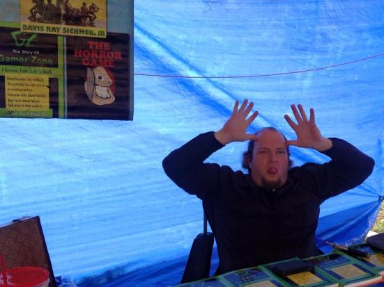 Davis Ray Sickmon Jr, our illustrious tent leader
